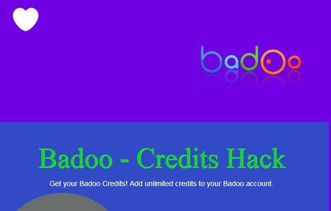 http//bit.ly/BadooCreditsHack Using this Badoo hack you