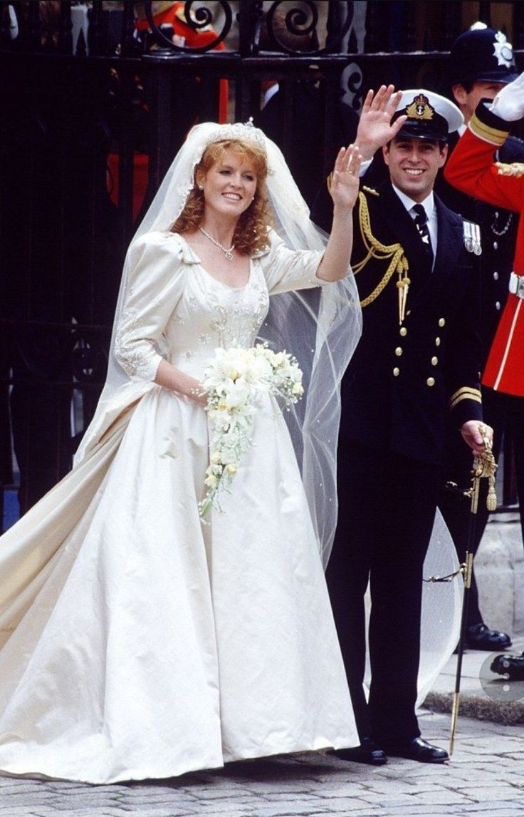 Pin by Debora Pennington on Prince Andrew & Fergie Wedding ...