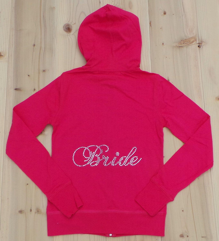 Bride hoodies. Bride Hoodie. Zip Up Hoodie. by JMTboutique on Etsy, $21.00