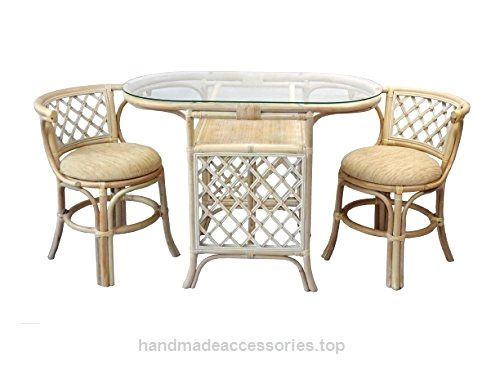 Rich Dining Furniture Set 2 Chairs With Cushion Oval Dining Table Glamorous 2 Chair Dining Room Set Design Decoration