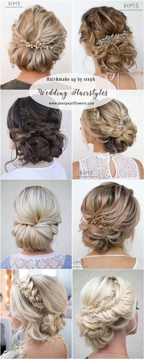 Hairandmakeupbysteph wedding updo hairstyles #weddinghairstyles ...