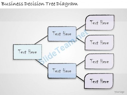 1113 Business Ppt Diagram Business Decision Tree Diagram - decision tree template