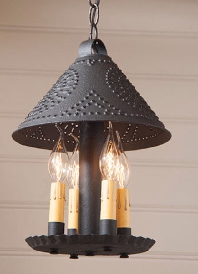 Britton Hanging Ceiling Light Pendant Primitive Country Lighting And