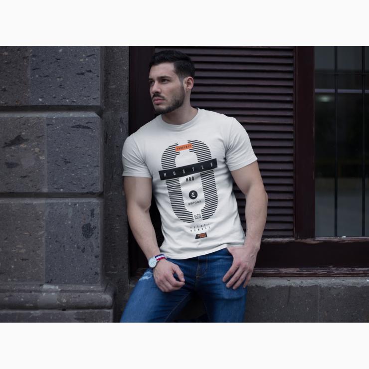 be19b62920ee0 Men T-shirt Hustle Hard Street wear motivation in 2019 | nannu | Men ...