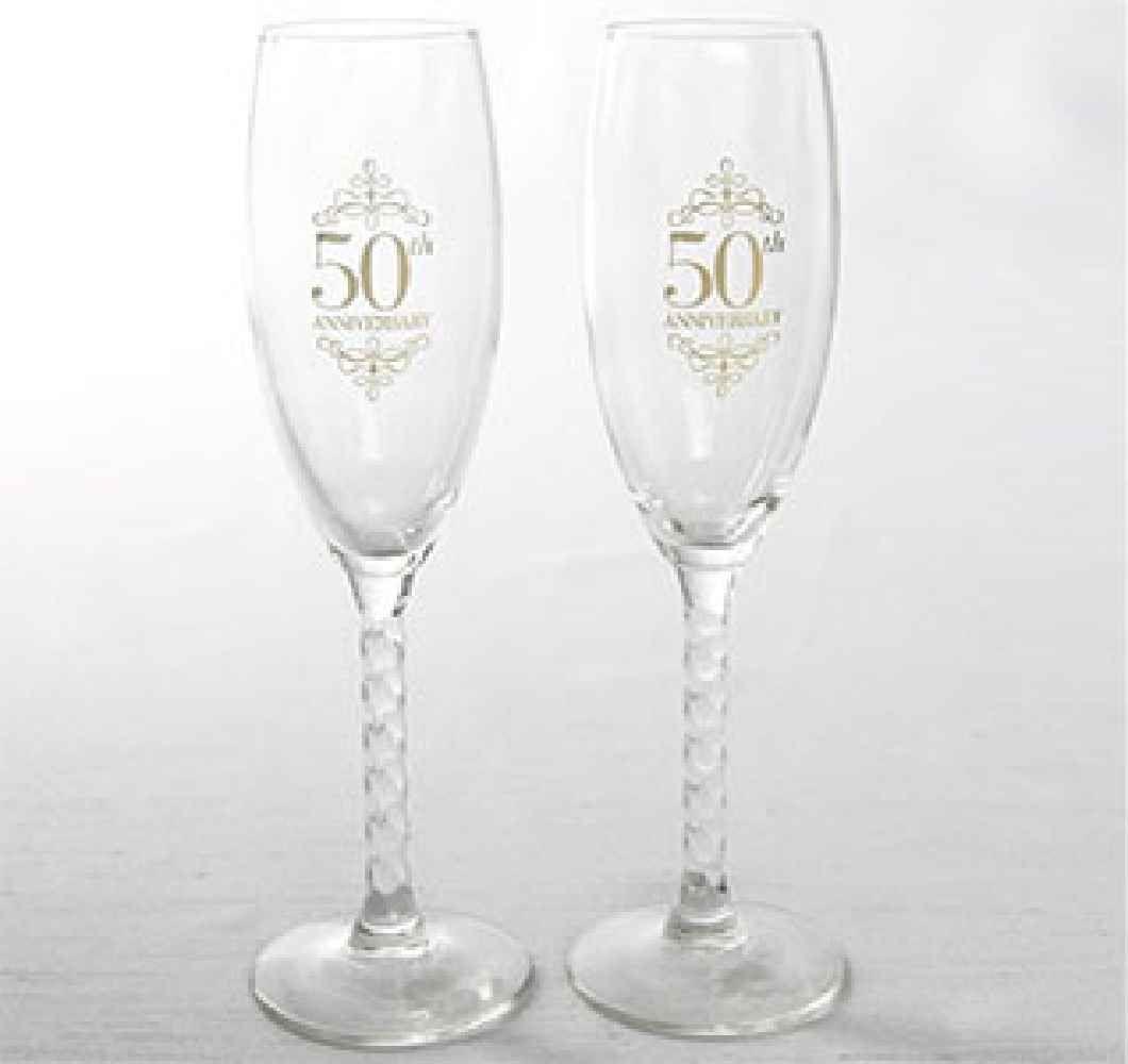 Shop anniversary champagne flutes at Blue Ridge Engraving ...