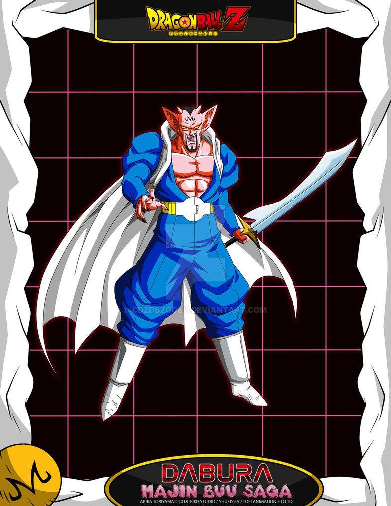 Dbz Dabura By Cdzdbzgoku Dragon Ball Dbz Line Art