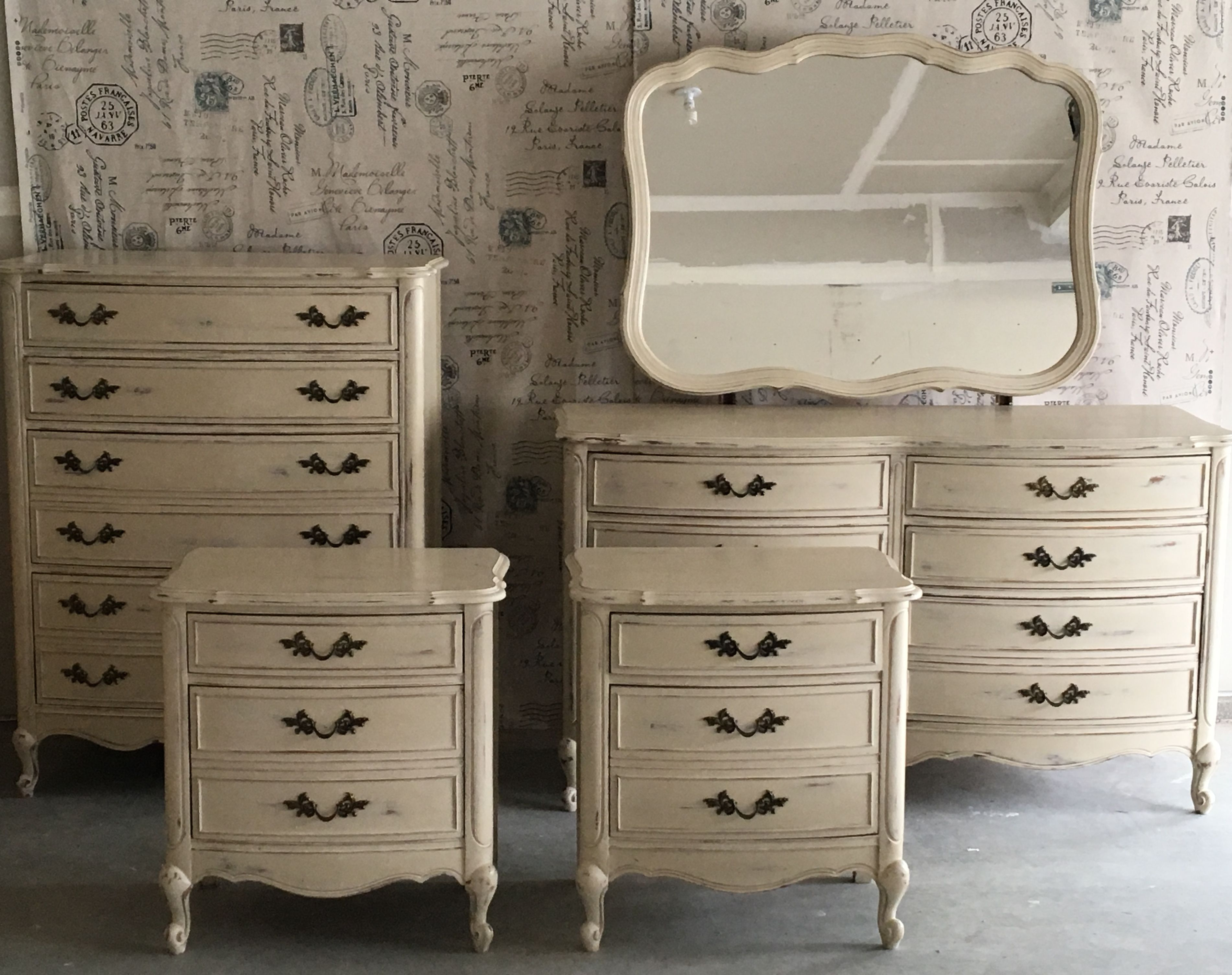 Fabulous dixie french provincial furniture bedroom set i purchased