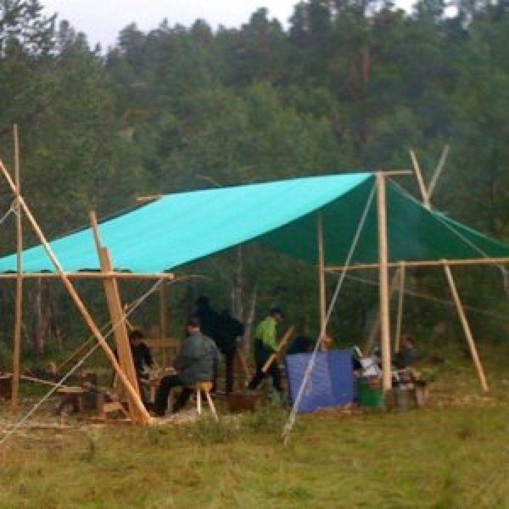 Heavy Duty Canvas Tarp 6m x 4m & Heavy Duty Canvas Tarp 6m x 4m | Tents Camping and Rendezvoux ...