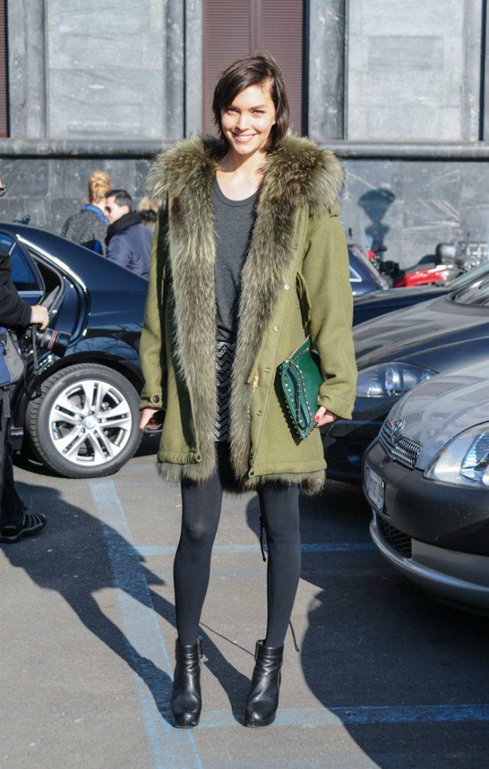 parka street style   Fashion ideas   Pinterest   Street styles ...