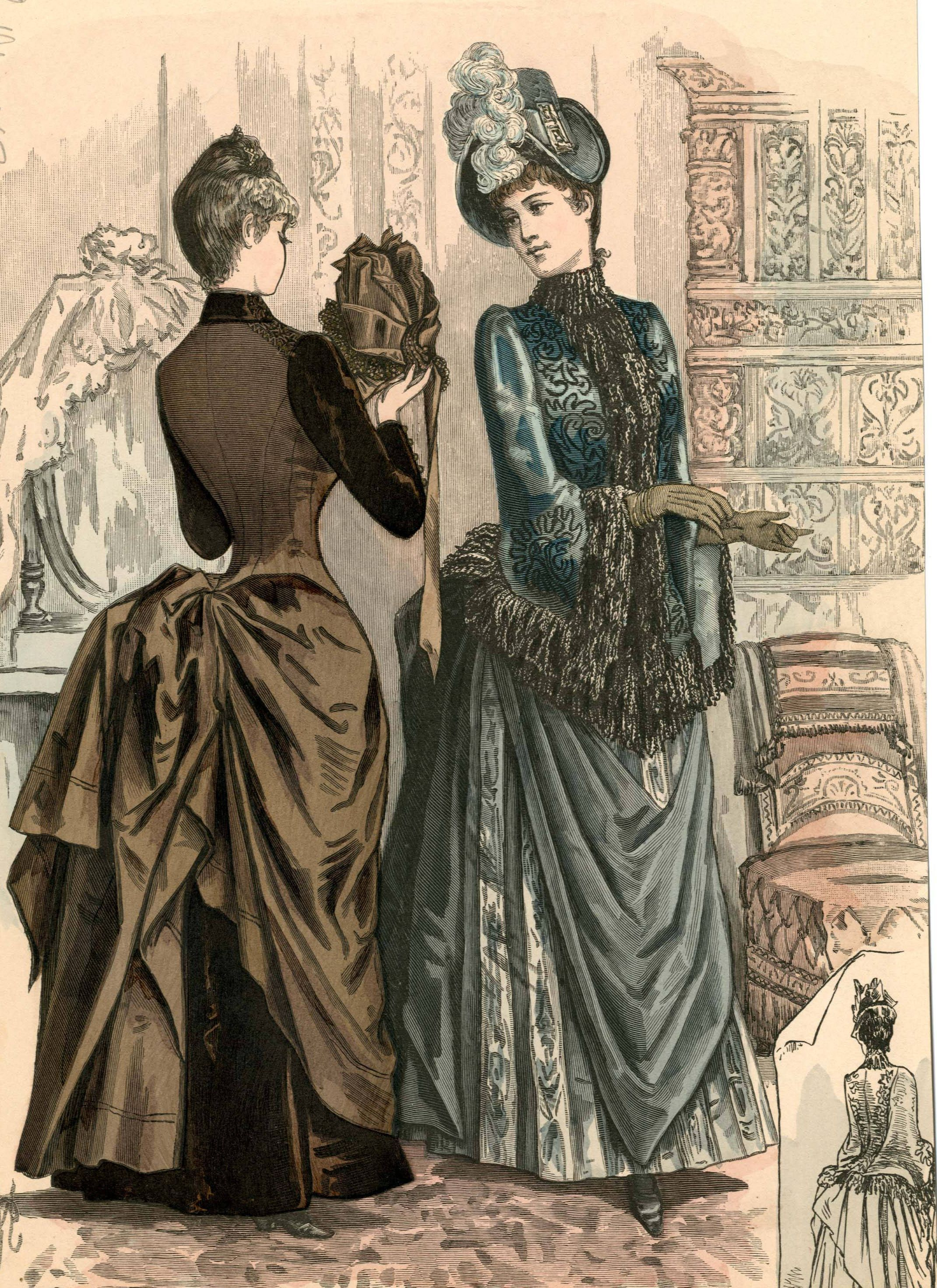 The Season 1887 | 1887s fashion plates | Pinterest | Viktorianisch ...