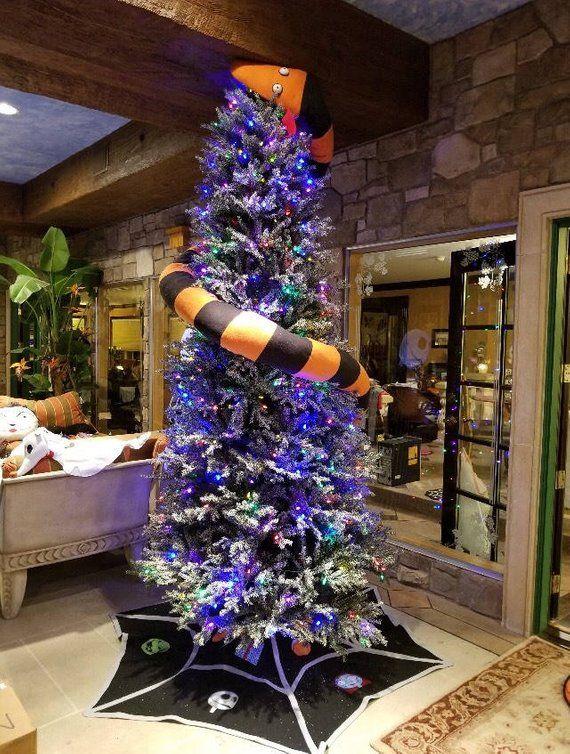 Spider Web Tree skirt Nightmare Before Christmas Etsy