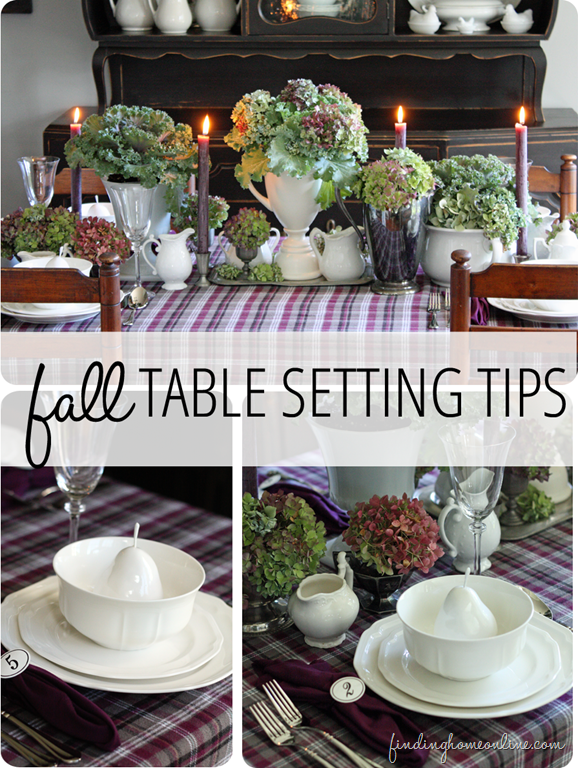 Fall Table Setting Tips (Tablescape) & A Mikasa Giveaway | Fall ...