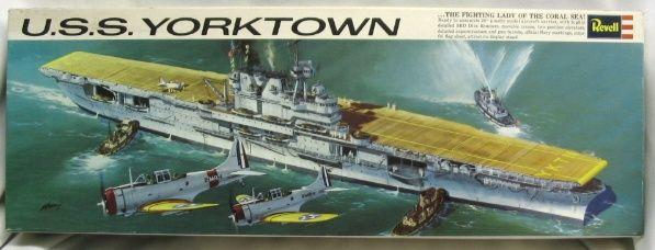 revell uss yorktown  cv