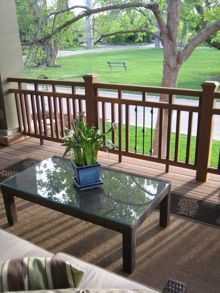 Image result for craftsman porch railing designs   Porch ...