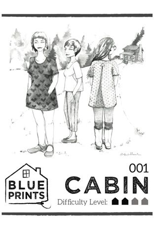 Cabin sewing pattern by blueprints for sewing pinterest sew cabin by blueprints for sewing pattern preview 1 indiesew malvernweather Choice Image
