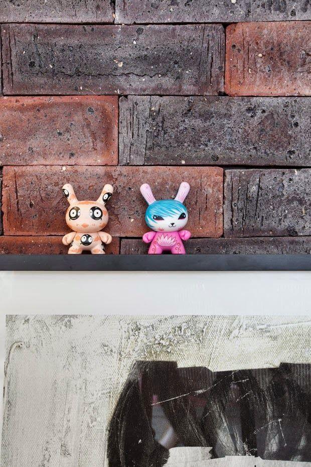 Casinha colorida: Home tour: um loft fantástico em Ipanema