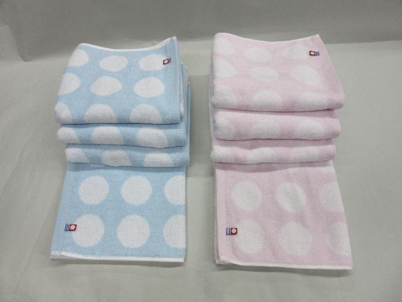 Bath Oboro Towel Japan Horizontal Stripes Wash Towel 10 Sheet Towels & Washcloths