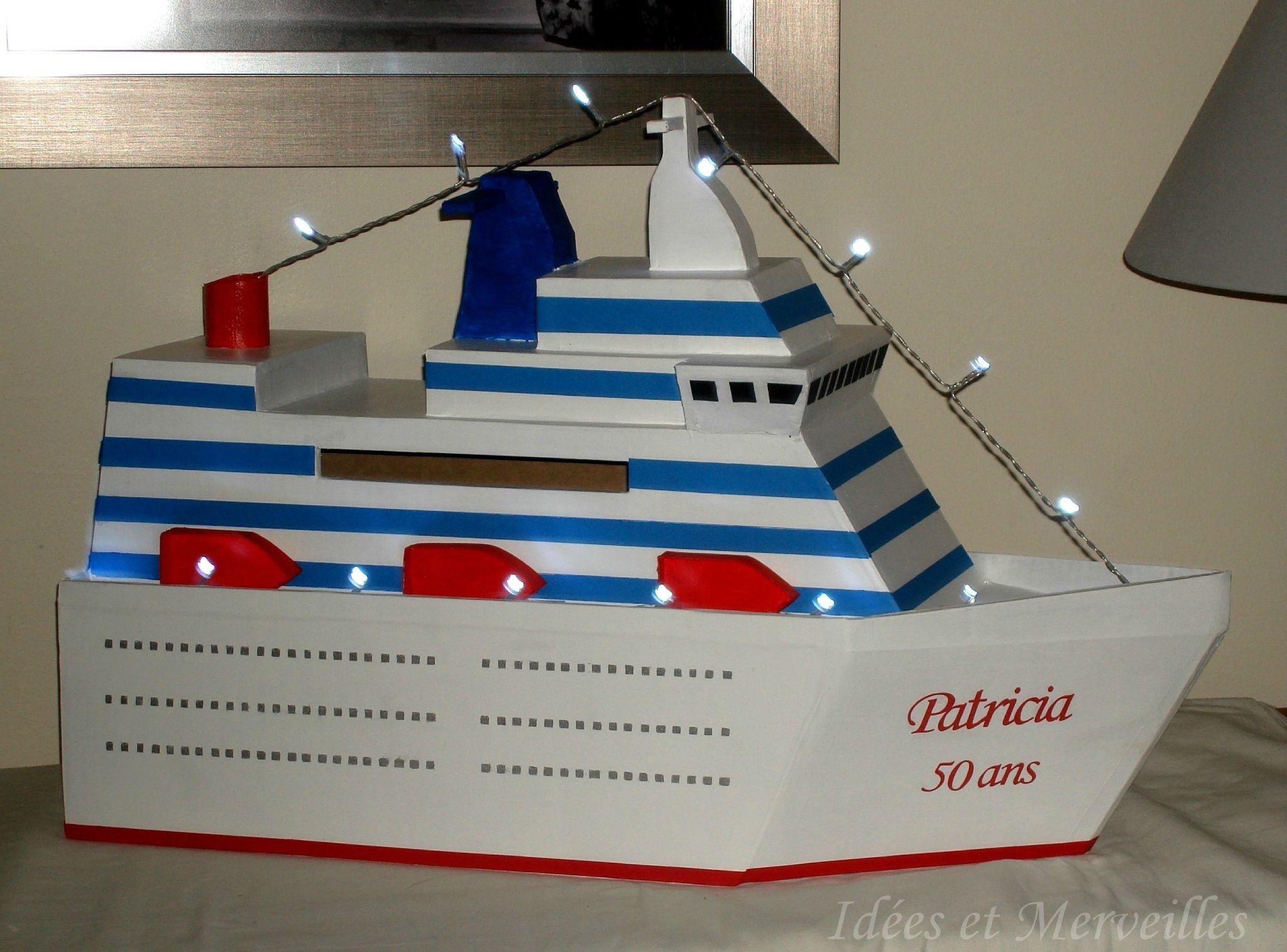 Bien connu urne bateau de croisière - idees et merveilles (1) | Urne dumb  NA63