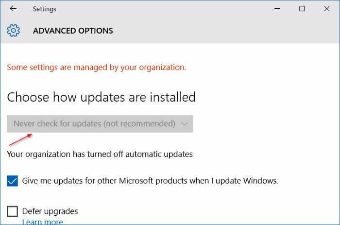 Turn Off Automatic Windows Updates In Windows 10 Using Registry Turn Ons Windows Turn Off