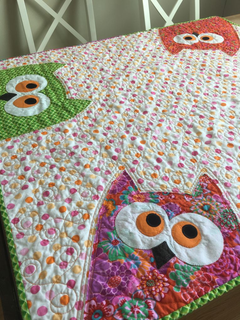 Playing With Owls Ann Walsh Quilting Quilt Owls Patterns