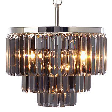 Luxe Crystal Chandelier Hanging Lamps Lighting Decor
