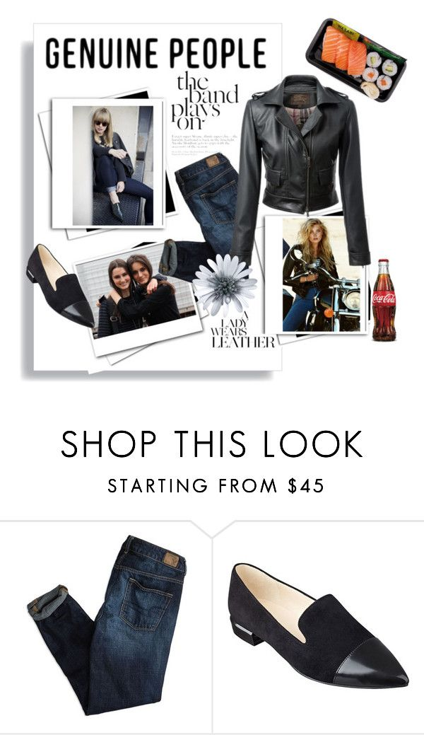 """""""genuine people jacket"""" by theworldisatourfeet ❤ liked on Polyvore featuring Karl Lagerfeld, American Eagle Outfitters, Nine West and genuinepeople"""