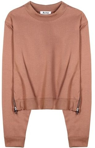 Acne Studios Bird Cotton-blend Sweatshirt on ShopStyle.