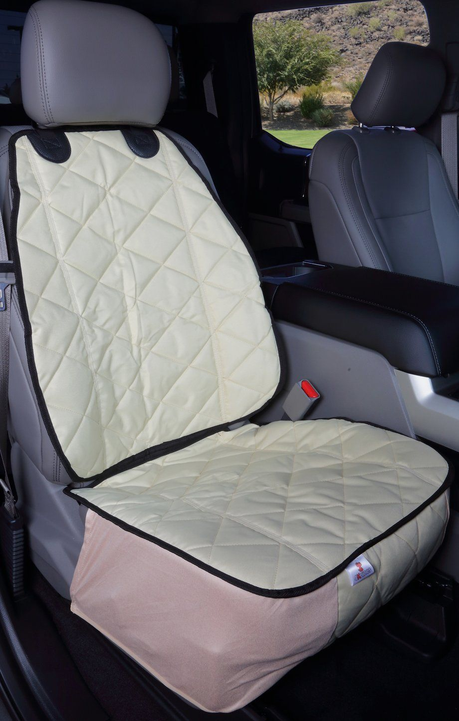 This Car Seat Cover Makes It Easy To Take Your Dog Along For The Ride Waterproof Easy To Clean Never Worry Ab Bucket Seat Covers Seat Cover Dog Seat Covers