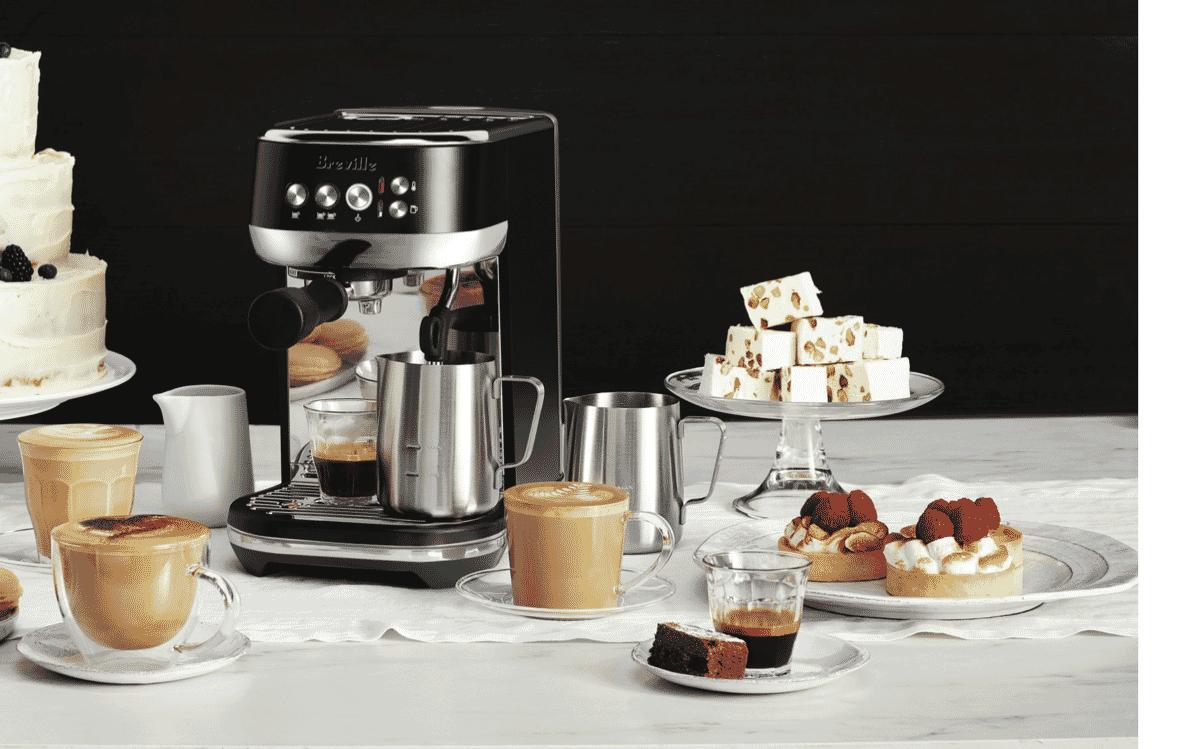Breville BES500BTR4JAN1 Bambino Plus Espresso Machine