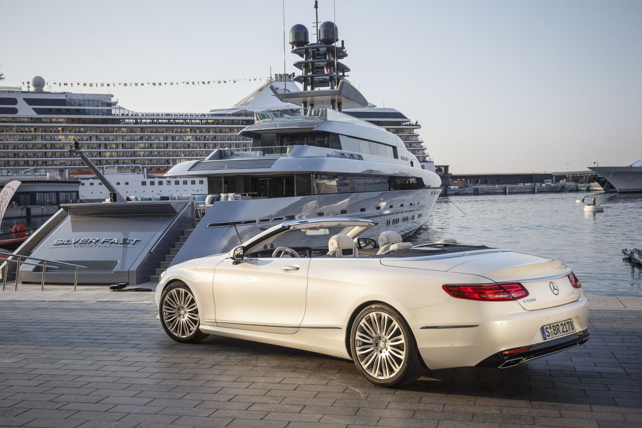 It Cars The New Mercedes S Class Cabriolet Coveted Dream