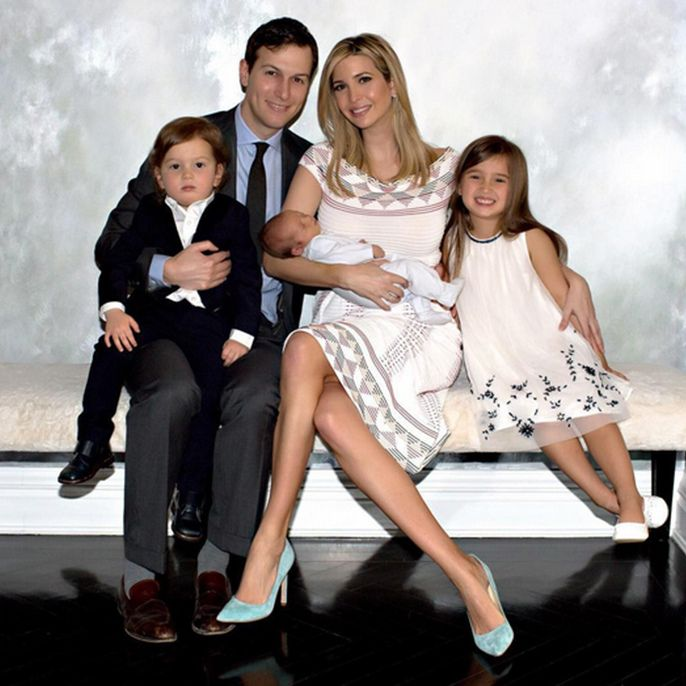 Ivanka Trump and Jared Kushner's family moments from NYC - HELLO! US