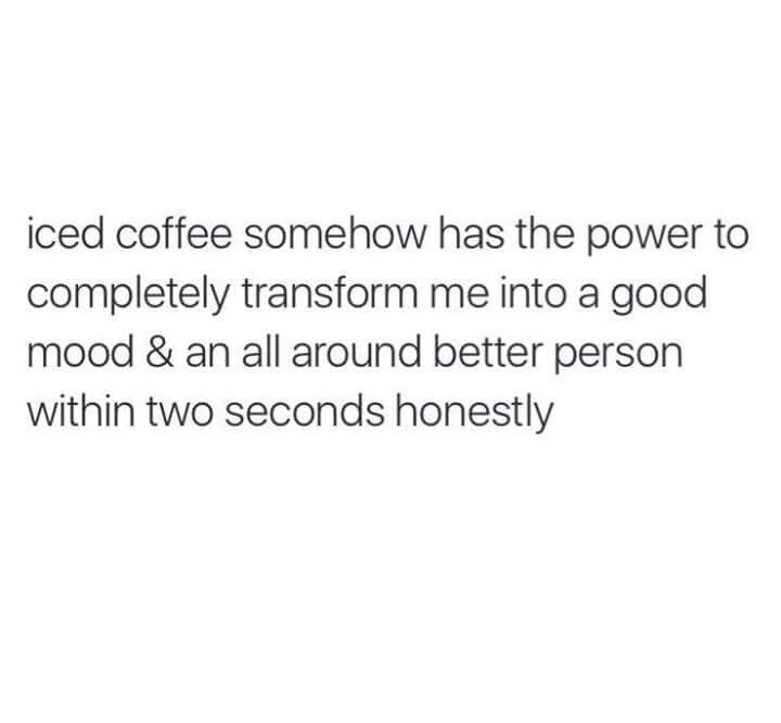 Iced coffee is my favorite (With images)   Coffee ...