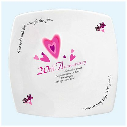 20th Anniversary Gift Ideas