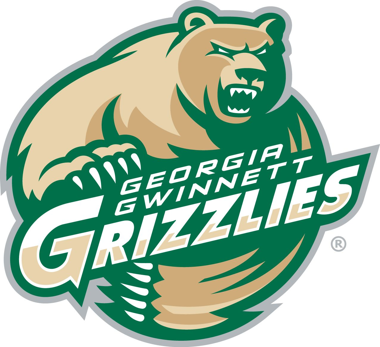 Grizzlies Georgia Gwinnett College Lawrenceville Georgia Div Association Of Independent Institutions Grizzlies College Logo Hockey Logos Sports Logo