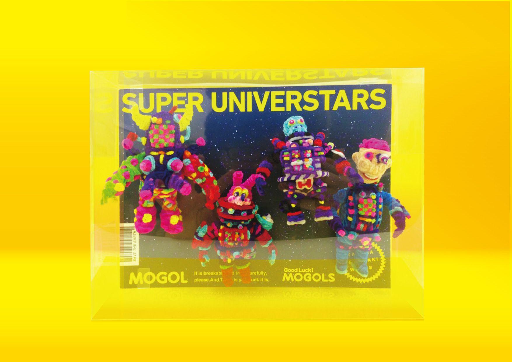 SUPER UNIVERSTARS  第二宇宙崩壊末期の最強キャラを集めたセット!! 左から MIX GALAXY 宇宙5参謀の合体した姿 USAGI UNIVERSE パワードスーツを装備したUSAGI 十三代目H.M.PHANTOM 宇宙の殺し屋 DEATH DOCTOR 様々な兵器を開発する闇の科学者
