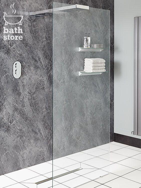 Walk In Wet Room Designs: Playtime 900mm Walk-Through Shower