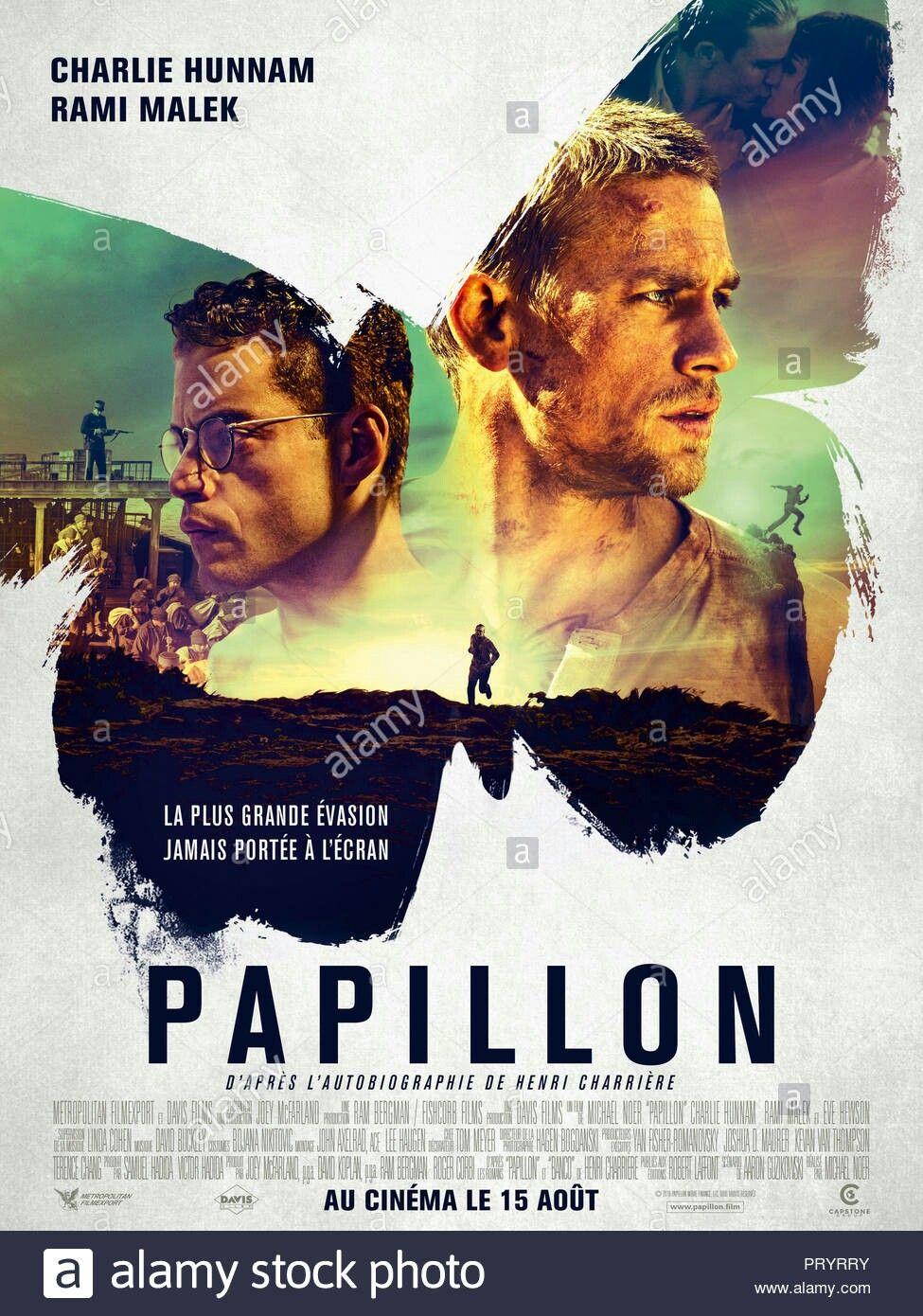 Papillon La Gran Fuga Papillon 2017 Una Buena Segunda Version De La Pelicula Papillon De 1973 Papillon Film Regarder Film Gratuit Film