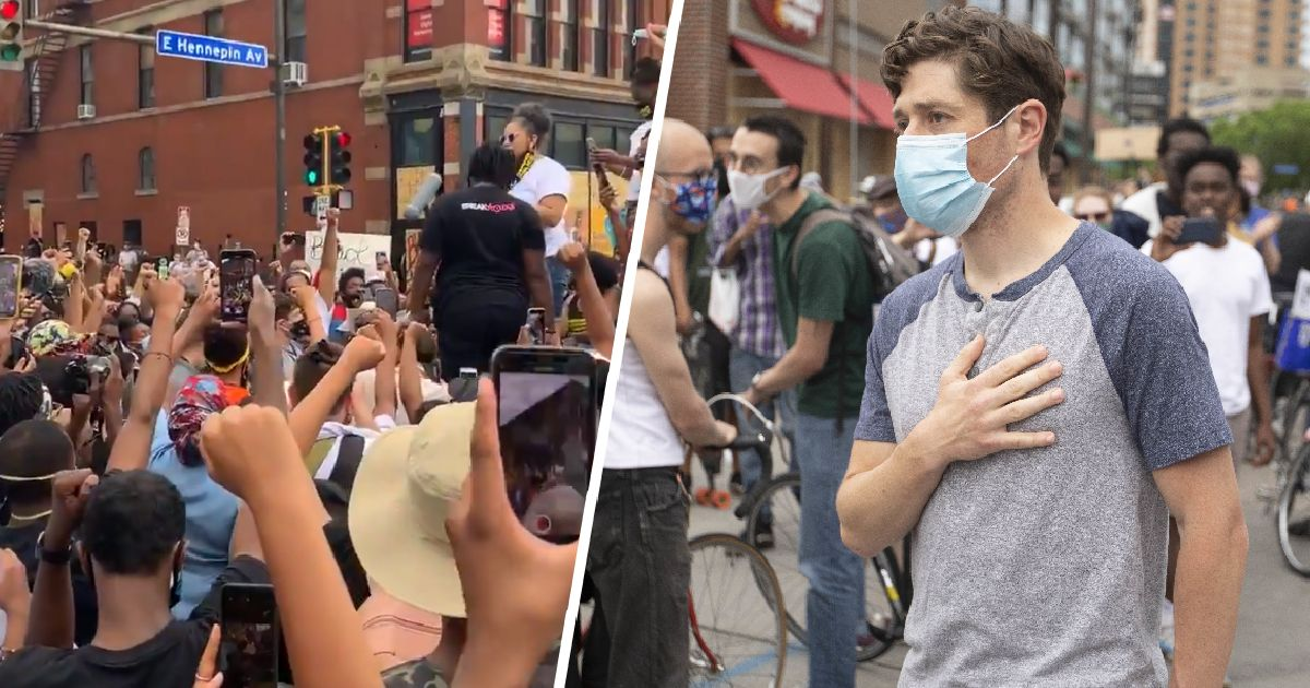 Crowd Boos Minneapolis Mayor Jacob Frey At Protest After He Refuses To Defund Police Minneapolis Crowd Minneapolis City