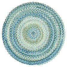 Capel Rugs Oracoke Cotton Chenille Country Braided Area Round Rug Blue Mist #425 #LGLimitlessDesign #Contest