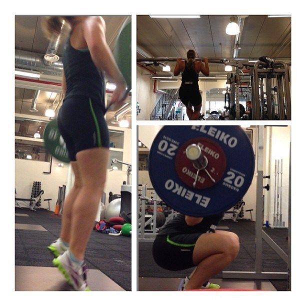 Sommertreningsmoro 2013: masse olympisk, bli sterk i beina og leke rundt med pullups med ekstravekt! Hei, hvor det går! - http://girlsworkhard.com/sommertreningsmoro-2013-masse-olympisk-bli-sterk-i-beina-og-leke-rundt-med-pullups-med-ekstravekt-hei-hvor-det-gar/