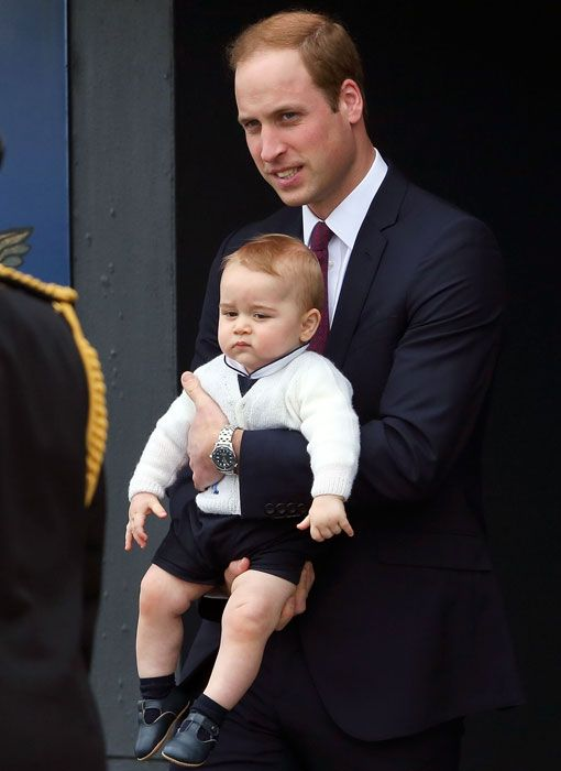 be70f0fbea35 Prince George steals the show as Prince William and Kate bid final farewell  in New Zealand