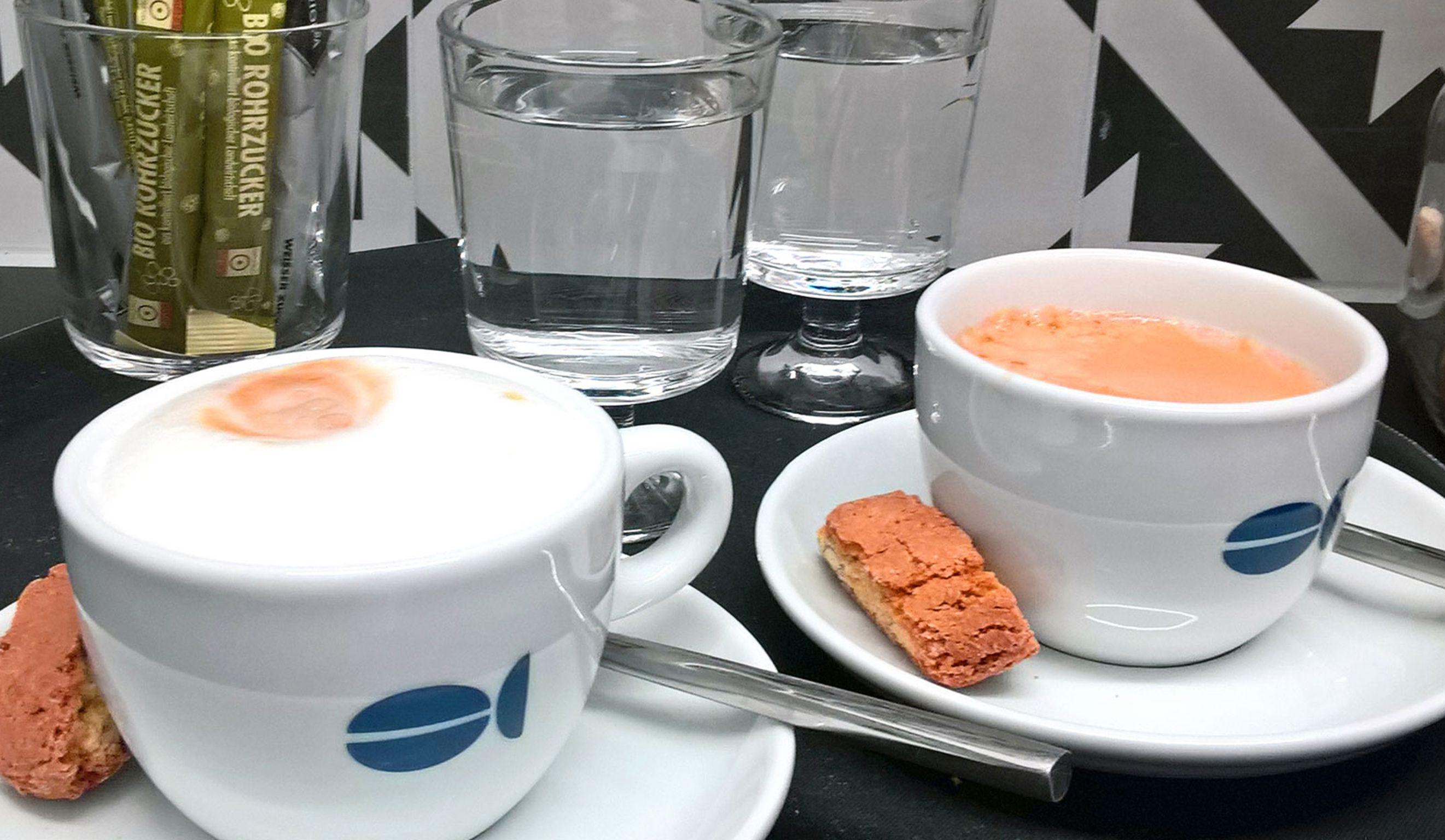 leckerer caffe vom see gibt´s auch auf dem berg selbst