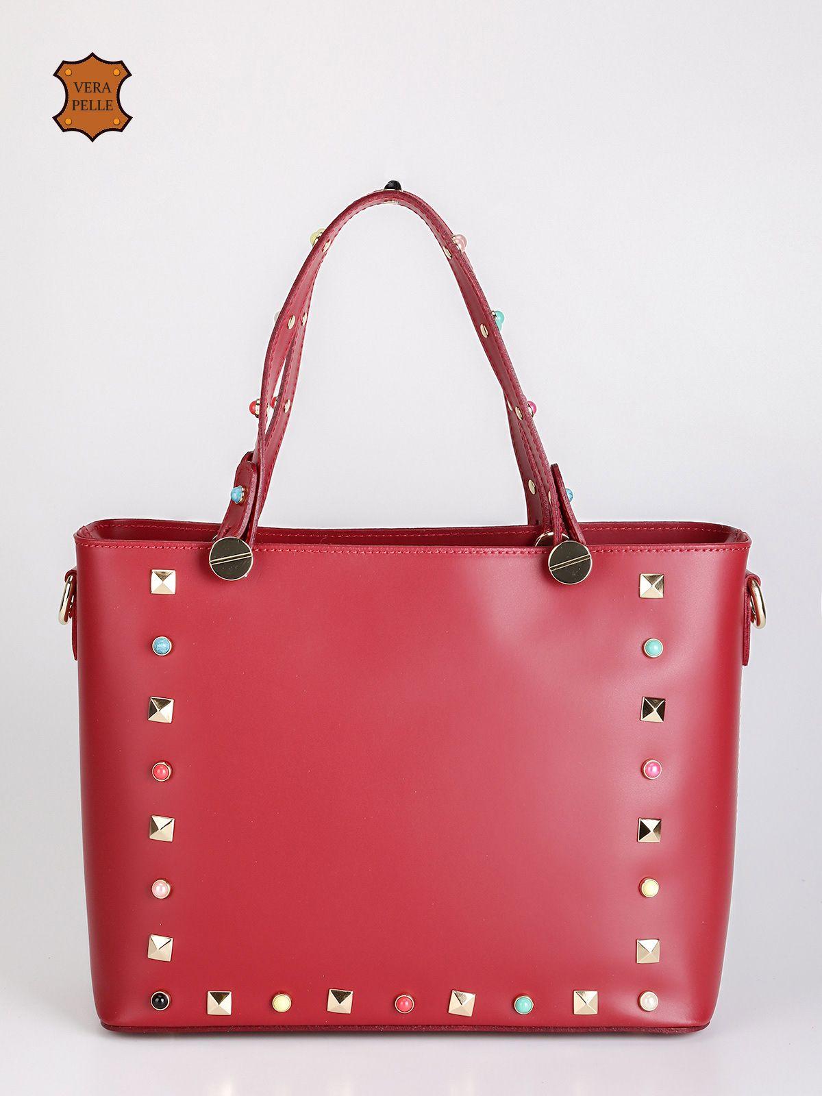 Ladies Designer Moda In Finta Pelle con Borchie Tasca Borsa Borsetta Bag Trapuntato