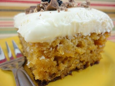 Pineapple Sheet Cake Topped With Cream Cheese Frosting Also Called Mexican Wedding