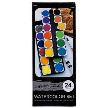 Master S Touch Watercolor Paint 24 Piece Set Paint Set