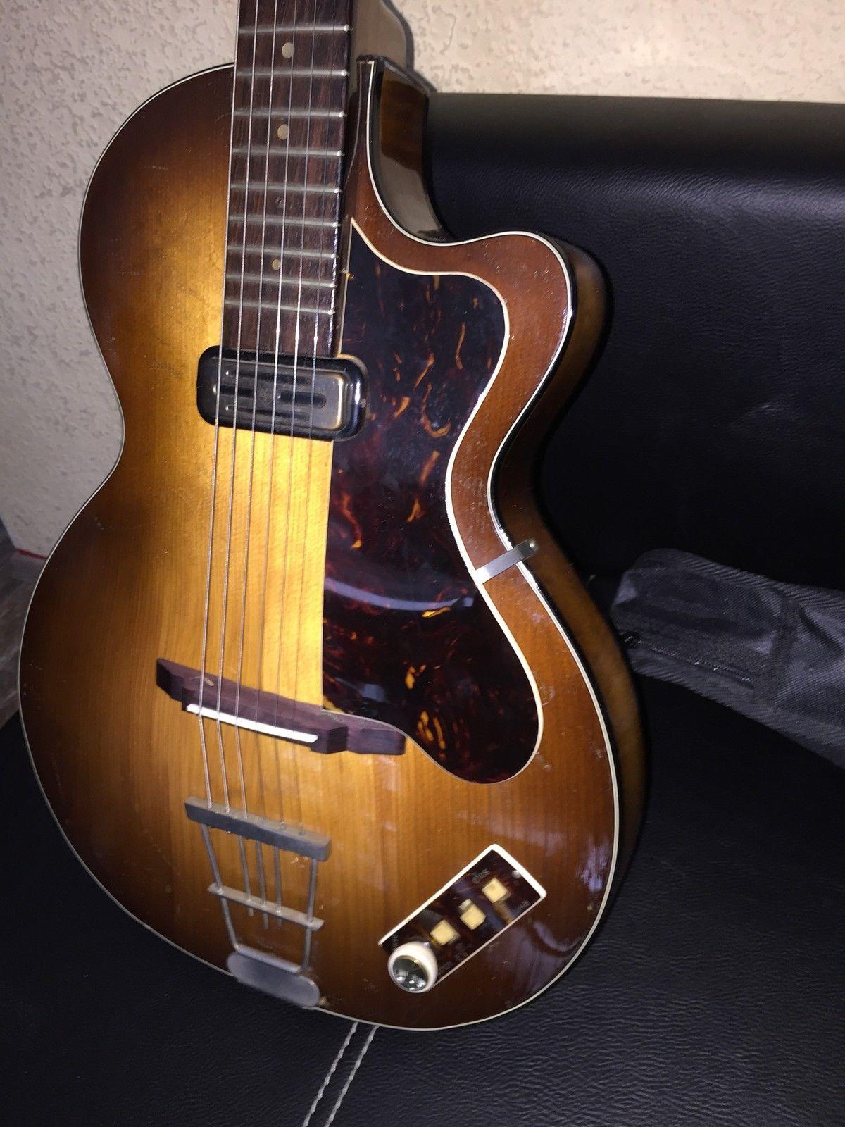 h fner club 50 vintage guitar aus den 60 ern ebay