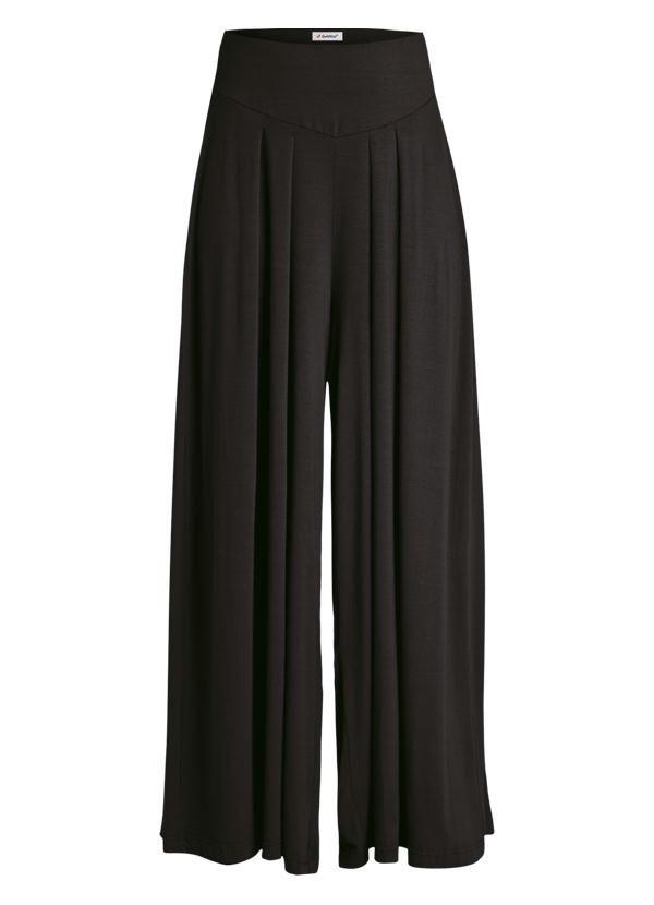 b6d5883b0 Calça Pantalona Preta - Quintess Trouser Pants