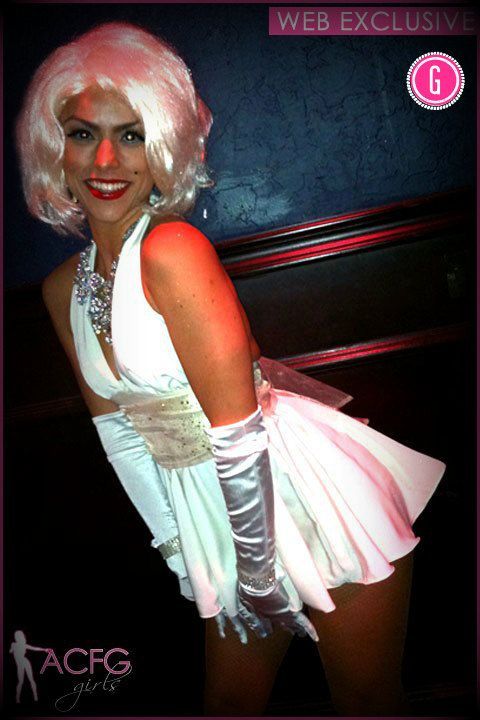 Sexy marilyn monroe costumes