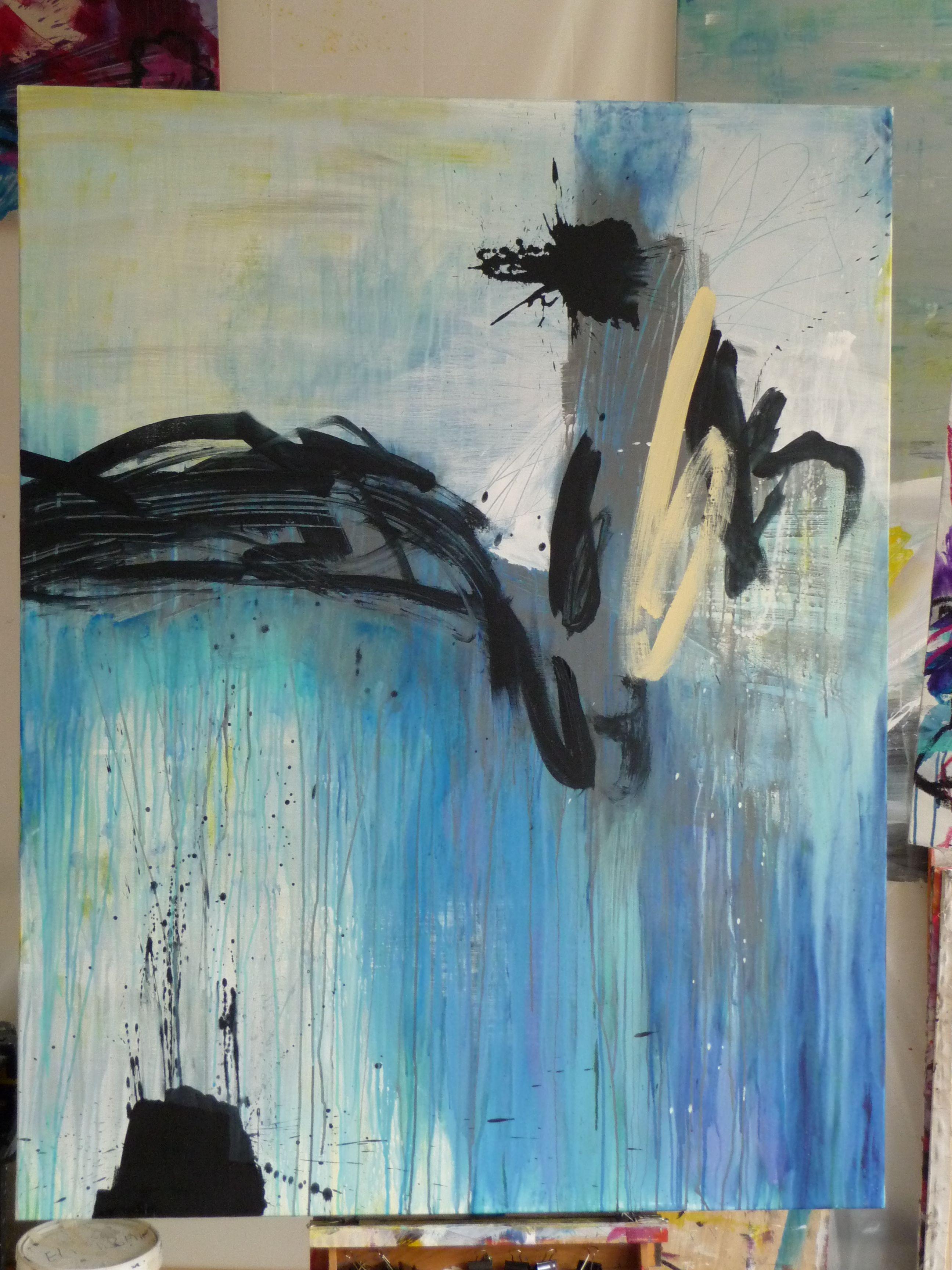 elisabeth gevrey, acrylique, 146 x 114 cm