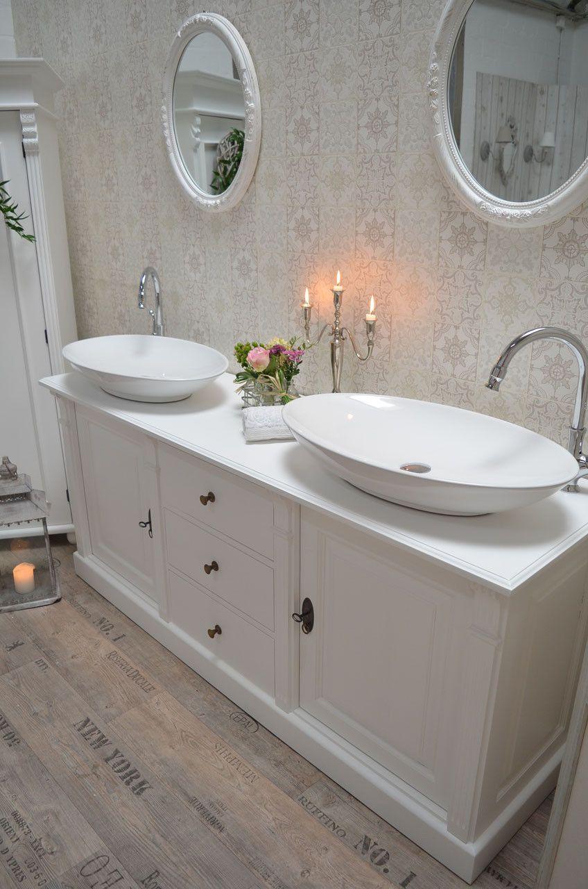 """Brilliant Badunterschränke Foto Von Badunterschränke - """"leiria"""": -waschtisch, Vintage, Shabby-chi -"""